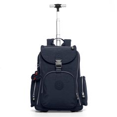 """NEW and improved with room for your beloved laptop and airline carry-on acceptable! Able to be wheeled or carried backpack style. Innovative features allow for use as carry-on luggage or a back-saving solution for students with a heavy homework load. Dimensions: 16.25"""" x 18"""" x 8.5""""  Weight: 5.53 lbs."""