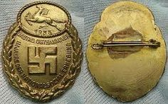 Traditions- und Gau-Abzeichen Ehrenzeichen Osthannover 1933 Army Medals, Lest We Forget, German, German Language, Merit Badge, World War One, History, Deutsch
