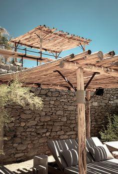 chez Scorpios a Mykonos  architecture vacances holidays maison sud grece ailleurs summer time farniente bonheur simple