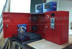 Parayla Çalışan Playstation - PLanet Games oyun makineleri.