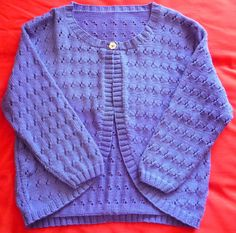 Ladies Hand-knitted DK Cardigan