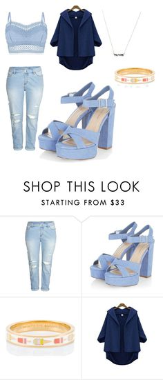"""""""Untitled #3"""" by stefania-ruiz-cue ❤ liked on Polyvore featuring H&M, Kate Spade, Lipsy, contestentry and styleinsider"""