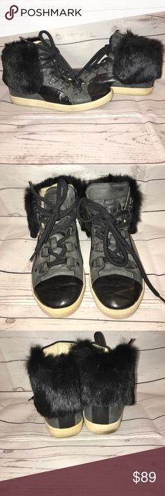 Alexander Mqueen Puma bound mid fur high tops. 6 Alexander Mqueen Puma bound mid fur high tops. Size 6. Older but great condition Puma Shoes