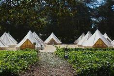 Family Camping, Tent Camping, Camping Hacks, Campsite, Glamping California, Lantern Hooks, Yurt Tent, Canvas Bell Tent, Glamping Weddings