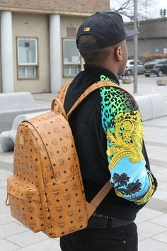 MCM backpack #mcm #streetstyle #bag #fashion