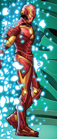 "Comics and nothin' but — Iron Man v5 #5 - ""Men of the World"" (2013) pencil..."