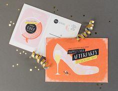 Oh So Beautiful Paper: Cinderella-Inspired Theatre Gala Invitations