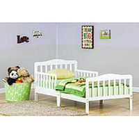 Dream On Me, Classic Design Toddler Bed, White