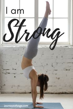 Read day by day what this girl is doing to get stronger!