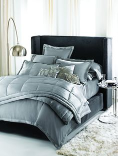 side table, bed-spread