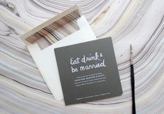 Heather's Bridal Shower Invitations by Christine Wisnieski via Oh So Beautiful Paper (2)