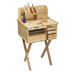 Jewelers Bench Organizer for Jewelers Mini Workbench, 18W x 5-1/2D x 7-3/8H