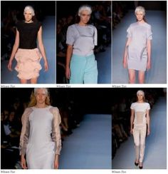 Winson Tan's work at Rosemount Australian Fashion Week