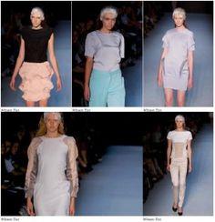 Winson Tan's work at Rosemount Australian Fashion Week