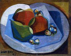 'Nature morte aux fruits', fresques de Juan Gris (1887-1927, Spain)