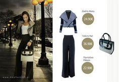 Παντελόνα Palazzo - Ζακέτα Alvery Winter 2014 2015, Image, Fashion, Moda, La Mode, Fasion, Fashion Models, Trendy Fashion