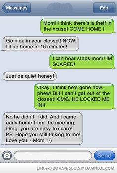 """This would be hilarious yet so mean! PLUS I am a bit concerned with the spelling of thief...maybe her mom should have her recite the """"i before e"""" rule before letting her out!!!!"""