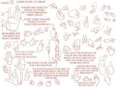 손,몸 구조 그리는 법 2 : 네이버 블로그