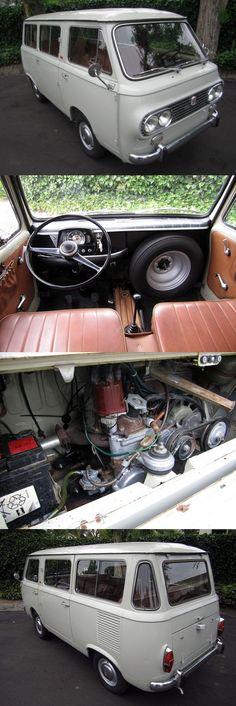 1967 Fiat 850 Familiare Minibus