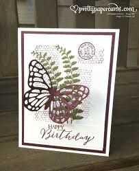 butterfly thinlit die card