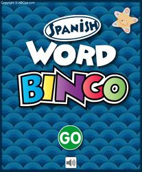 Spanish Word BINGO is a fun educational game for kids to practice Spanish vocabulary words. There are over 200 common Spanish words grouped into 11 different categories. Vocabulary Games Online, Spanish Vocabulary Games, Spanish Games, Spanish Activities, Vocabulary Words, Spanish 1, Learn Spanish, Interactive Sites For Education, Bilingual Education