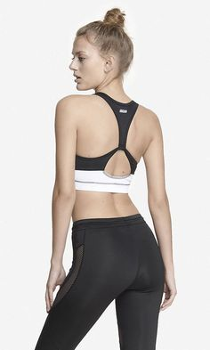 EXP CORE BACK CUT-OUT BRA | Express $34.90 Buy 1, Get 1 50% Off