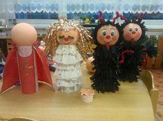 Christmas Ornaments, Holiday Decor, Advent, Carnival, Projects, Craft, School, Christmas Ornament, Christmas Topiary