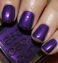 Rescue Beauty Lounge Pause swatched on nail wheel. $12 shipped. Christina Pleichner