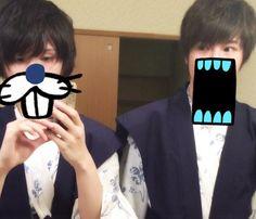 Soraru & His younger brother OMG soraru's brother is soooo ikemen. <3