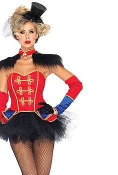 Sexy Ring Mistress Women's Costume | Wholesale Occupational Halloween Costumes for Sexy