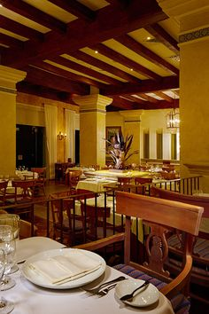 Frida, traditional Mexican Cuisine at Grand Velas Riviera Nayairt Restaurants, Traditional, Table Decorations, Dining, Inspiration, Furniture, Home Decor, Biblical Inspiration, Food