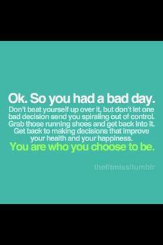 Bad day ?
