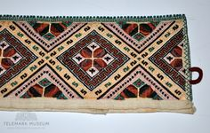 DigitaltMuseum - Kvarde Hardanger Embroidery, Needlework, Bohemian Rug, Objects, Museum, Vintage, Places, Embroidery, Dressmaking
