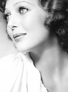 Loretta Young, how beautiful is this woman? I remember watching her show as a kid, but can't remember what it was about. Even so, when I see a pic of her, I feel a childhood squeeze to the heart.