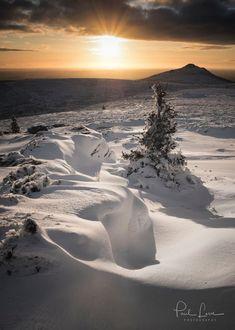 The last snow in Bennachie - maybe?