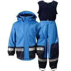 f940c0f6 Didriksons' Galon® PU Waterproof Boardman Kid's Set Sharp Blue