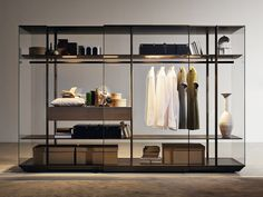TREND:  8 elegant wardrobes All of these wardrobes are so roomy you are guaranteed to have plenty of space for all your fashion collection. Couture inside and out!  Molteni&C, cabinet Kristal @moltenidada