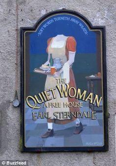 bizarre pub sign - Google Search