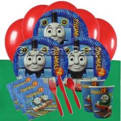 Thomas The Tank Engine Classic Party Pack