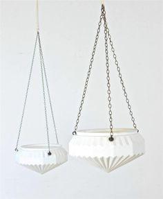 Original Pair of Milk Glass Art Deco 20's Chandeliers / Lights / Shades