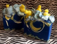 Luxurious Cold Process Artisan Soap Just Ducky by MilancoSoaps, $5.00