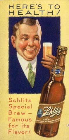 Schlitz Beer Advertisement