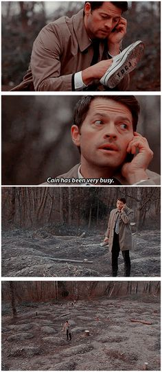 [gifset] SPN Spoilers 10x14 The Executioner's Song #SPN #Castiel