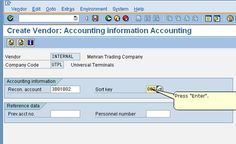 Tutorial about SAP Vendor Master Data in Materials Management. Learn about vendor master records in SAP MM, their functions, and how to create a new vendor. Purchase Department, Fax Number, Financial Accounting, Accounting Information, Trading Company, Free Training, Management, Coding
