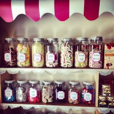 Old Style Sweet Selection Craft Shop, Traditional, Sweet, Crafts, Style, Candy, Swag, Manualidades, Handmade Crafts