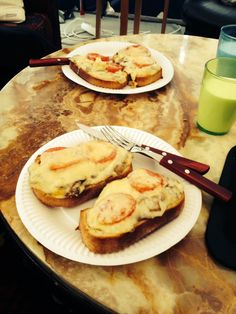 Homemade mushrooms sandwiches ;-)