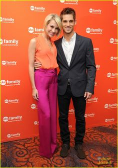 Baby Daddy co-stars: Chelsea Kane and Jean- Luc Bilodeau