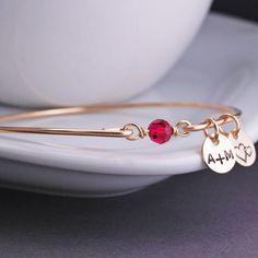 Birthstone Bracelet - Gold