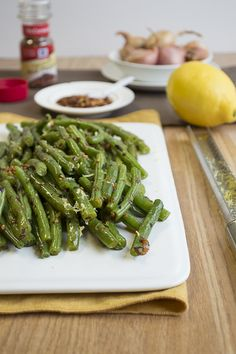 Spicy Garlic Green Beans Recipe