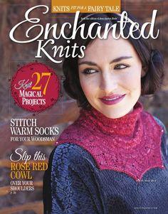 【转载】Interweave Knits Special Issue Enchanted Knits 2014 - Amy の 温馨小屋的日志 - 网易博客